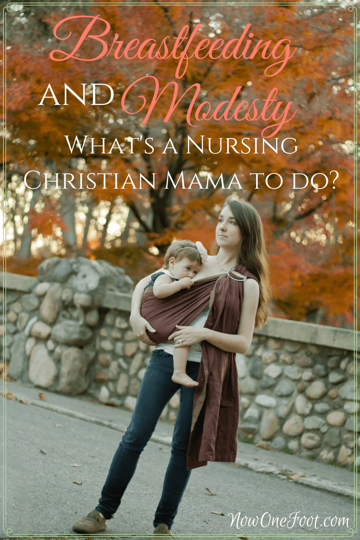 Breastfeeding and Modesty - Can Christian mamas nurse in public without being immodest? Is breastfeeding ever immodest? Do you have to use a cover?