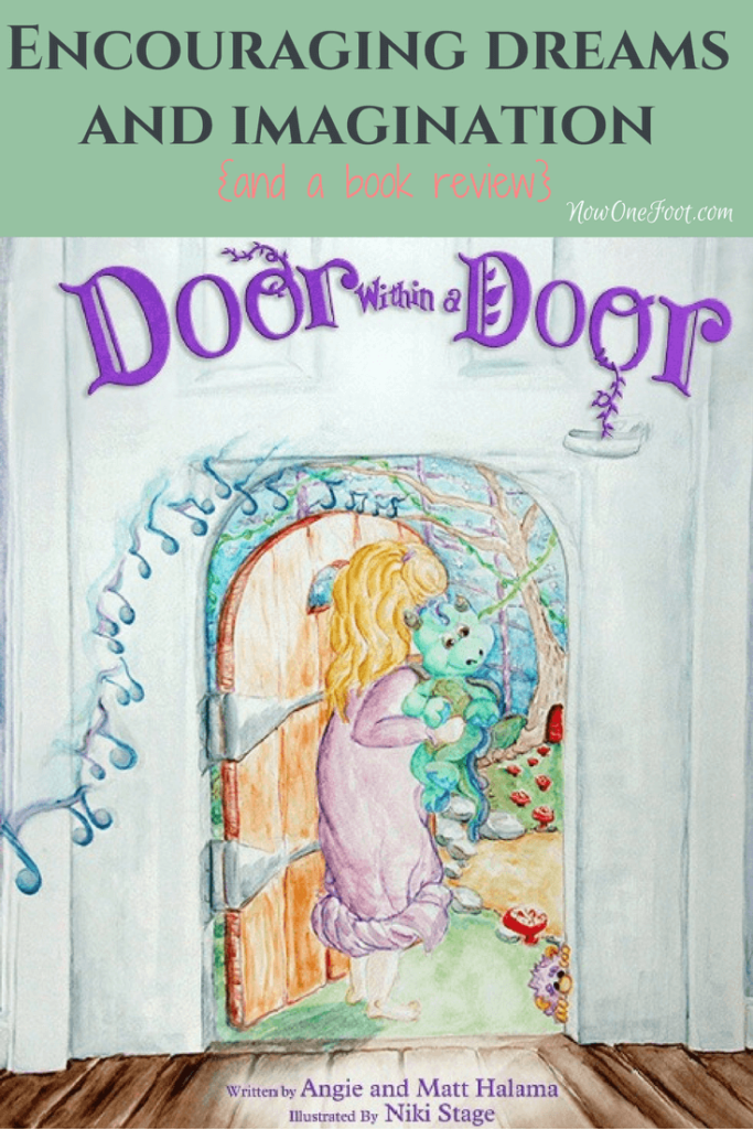 "Dreaming and using their imagination is such a huge part of childhood, it's important we encourage free, creative play. The new children's book ""Door Within a Door"" is a great example of how to encourage dreams and imagination alone with great qualities like bravery and kindness."