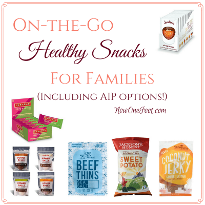 The Best On-the-Go Healthy Snacks for Families