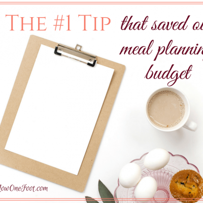 The Trick To Meal Planning on a Budget